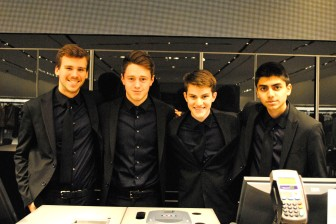 The good-looking staff at Zara Man