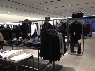 The merchandising at Zara Woman