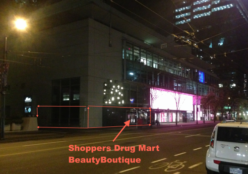 Shoppers Drug Mart BeautyBoutique Beauty Boutique Vancouver Burrard Street Colin Arber Retail Insider