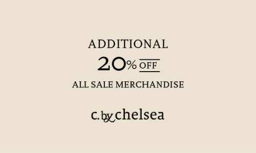 c by chelsea sale