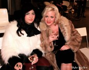 Nazlican Elestekin of VanCity Vogue and Devon Schultz of David Blue Hair Design