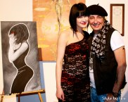 The artist and his muse: Natalia Krioutchkova and Yves Decary