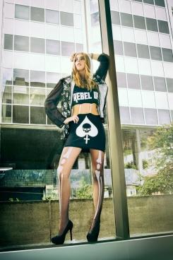 Photographer Celina Lam  Photography Stylist Lily Li  Hair & Makeup Tiana Allinan   Model Alison Nichol